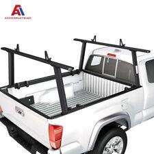Aluminum Pickup Truck Utility Ladder Racks Adjustable For Toyota Tacoma 2005-On