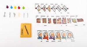 Clue Board Game Replacement Pieces and Parts 1986 - 1992 - Choose What You Need