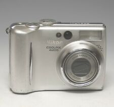 Nikon COOLPIX 4200 4.0MP Digital Camera - AS IS - Missing Battery Door