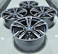 """19"""" BMW M6 STYLE STAGGERED WHEELS RIMS FIT 1 3 4  5 6 SERIES X3 X4 Z3 Z4 5456"""