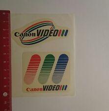 Aufkleber/Sticker: Canon Video (051216166)