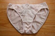 Vintage Japanese Nylon Spandex Shiny Slippery Lovely Nude Bikini Panty Small