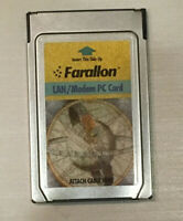 Farallon LAN/Modem PC card untested/for parts