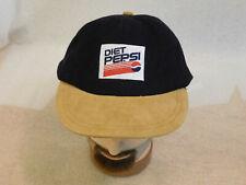 Vintage Diet Pepsi Cola Buckle Back Adjustable Hat Cap