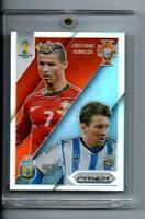 2014 Prizm WORLD CUP SILVER REFRACTOR MATCHUPS Cristiano Ronaldo / Lionel Messi