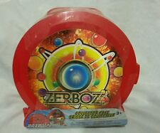 Zerboz Toy Collector Case Red Hold 18 Figurines & 18 Balls