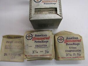 "1942 -1954 6 CYL CHRYSLER PISTON RING SET 0.040  3-7/16""  DODGE DESOTO TRUCK"