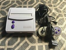 Mini Super Nintendo Entertainment System Launch Edition Gray Console, BUNDLE