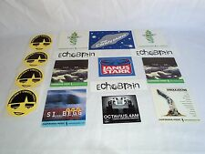 Rock Punk Metal Promo Stickers postcards Echobrain Janus Stark  Octavius 90s