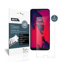 2x Huawei P20 pro Schutzfolie matt - Panzerfolie 9h Folie Dipos Glass