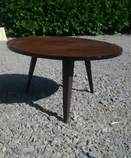table basse tripode ronde année 60 vintage