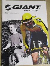 CATALOGUE VELO : GIANT BICYCLES 2004 - EN FRANCAIS -