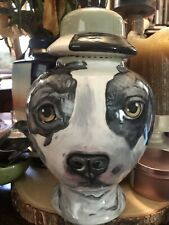 Custom Terrier Pit Bull Urn Staffordshire Urn Dog cremation Any Breed dog urn