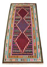 kurde Coureurs De kilim 278 x 121 cm Nomades Tapis kélim carpette tribale 1398