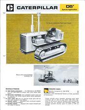 Equipment Brochure - Caterpillar D5 SA - Track-Type Farm Tractor c1974 (E4426)