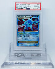 Pokemon MAJESTIC DAWN GLACEON LV X #98/100 HOLO FOIL PSA 10 GEM MINT #28664731