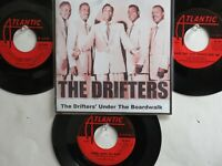 LOT OF 4 ' THE DRIFTERS ' HIT 45's+1P(Copy)[Under The Boardwalk]  THE 50's&60's!