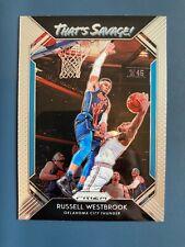 Russell Westbrook 2018-19 Prizm que es salvaje Tarjeta de Baloncesto de la NBA #10