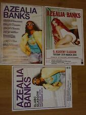 Azealia Banks UK tour concert gig posters x 3