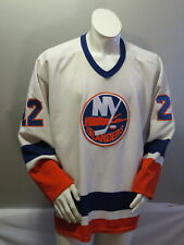 New York Islanders Jersey (VTG) - Home White Mike Bossy by CCM - Men's XL