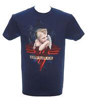 VAN HALEN - SMOKING NAVY BLUE - Official Licensed T-Shirt - New S M L XL