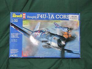 Revell Models 1:32 Vought F4U-1A Corsair plastic  model kit