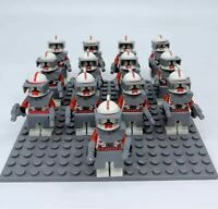 13x Red Clone Trooper Mini Figures (LEGO STAR WARS Compatible)