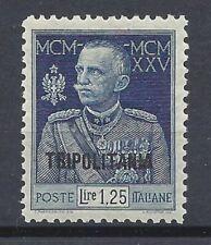TRIPOLITANIA 1925 Giubileo 1,25L dent 11 MNH** (PP) Bolaffi