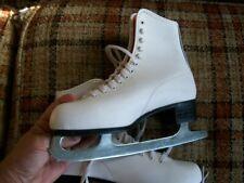 Canadian Royal Womens 8 White Ice Skates