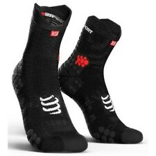 D) calcetines Compressport Sh3t3sb L3 negro