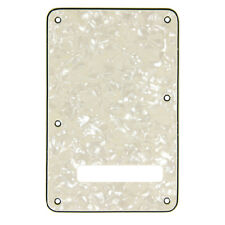 More details for electric guitar back plate tremolo bridge cavity cover for fender strat 3 ply