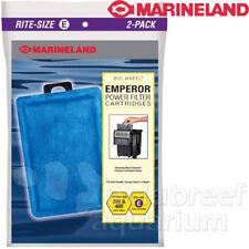 Emperor 280 & 400 Rite Size E 2 Pack Carbon Filter Cartridges Marineland