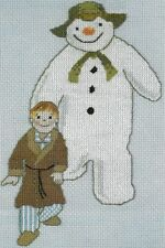 The Snowman and James cross stitch chart + 2 bonus charts Christmas 907