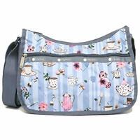 LeSportsac Tea For Two Classic Hobo Crossbody Bag + Cosmetic Bag NWT Free Ship