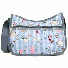 LeSportsac Tea For Two Classic Hobo Crossbody Bag + Cosmetic Bag NWT Free Ship