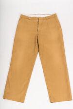 ESSENTIALS CAMEL STRAIGHT LEG TROUSERS 36 29 Waist 36'' Leg 29''