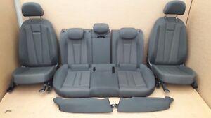 Audi A4 B9 8W Avant Innenausstattung Sitzausstattung Sitze Stoff mit Sitzheizung
