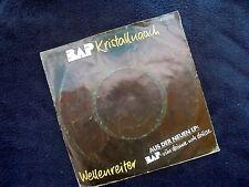 BAP: KRISTALLNAACH / WELLENREITER~ORIG. DUTCH EDITION~1982