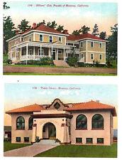 CA - MONTEREY - Officer's Club, Presidio & public Library - Circa 1907-1915