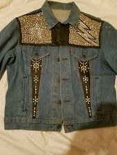 One Of A Kind. 80'S Vintage. Custom Denim Jacket