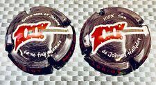 capsule de champagne Loriot P & F johnny hallyday 100%