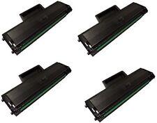 NON-OEM 4 PK TONER CARTRIDGE FOR SAMSUNG MLT-D104S ML1660 ML1665 ML1666 ML1670