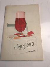 VINTAGE JOYS OF JELLO COOK BOOK GENERAL FOODS