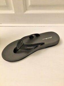Eddie Bauer Women's Black Flip Flops Slip On Thong Sandals Size 7