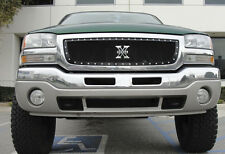 T-REX X-Metal Series Grille 1 Piece 03-06 GMC Sierra 1500 6712001 Black