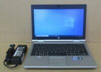 "HP Elitebook 2570p 12.5"" HD i5-3360M 2.8Ghz 4GB Ram 500GB HDD Win10 Pro Laptop"