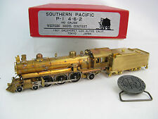 Westside HO Brass Southern Pacific P-1 4-6-2 Locomotive & Tender