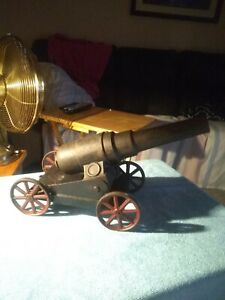 Vintage Signal Cannon W/Metal Cart Absolutely Stunning And A Real Banger!!!!