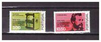 S23963) Portugal 1976 MNH Telephone Centenary 2v Bell