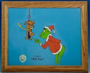 Dr Suess How The Grinch Stole Christmas Sericel Boo Hoo Cel Rare Animation